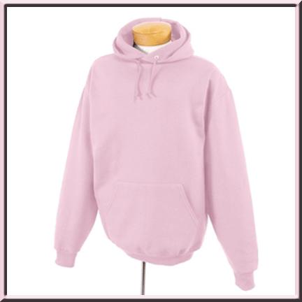 Blank Pink Hoodies