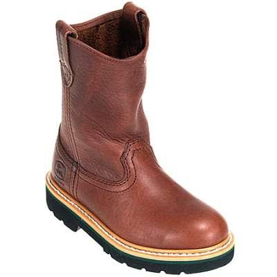 > Kids > Kids Boots > John Deere Boots: Kids' Leather Cowboy Boots ...