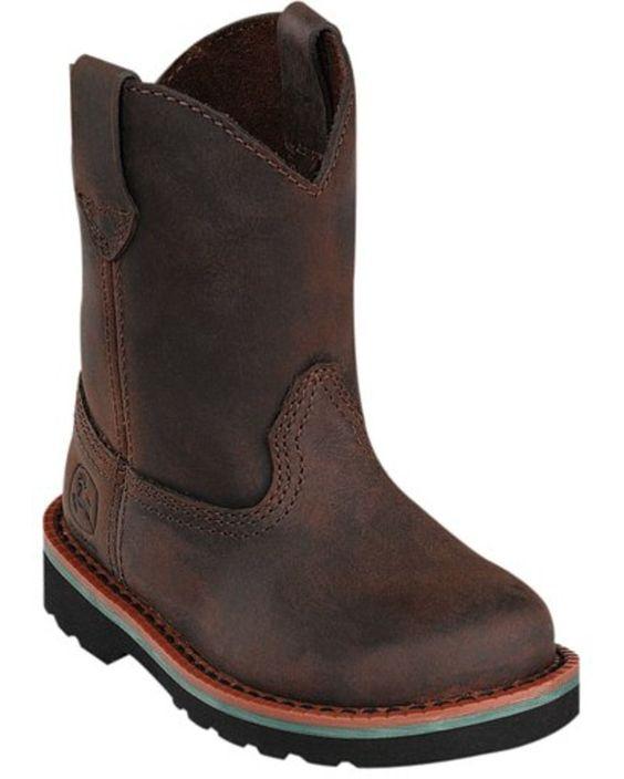 John Deere Boy's Classic Pull-On Boot - Gaucho $66.00 ~ For Jordan ~