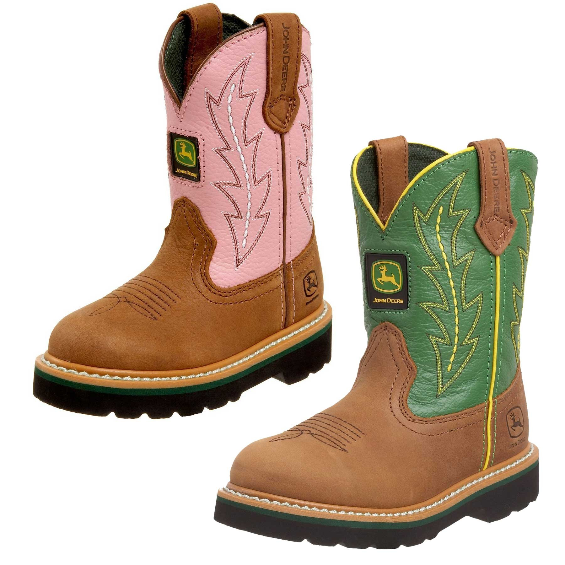 Kids will want to wear their John Deere boots everywhere.