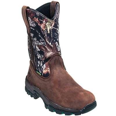 ... Boots > John Deere Boots: Men's JD4538 Mossy Oak Waterproof Composite
