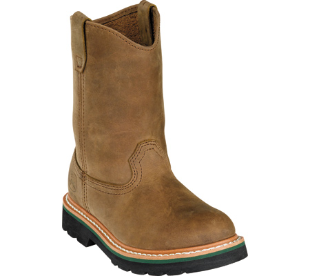 Childrens John Deere Boots Leather Wellington 3174 - FREE Shipping ...