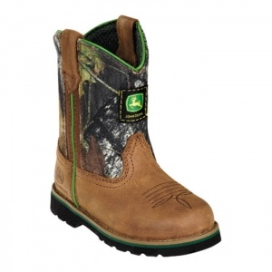 Western boots, Tan leather and John deere on Pinterest