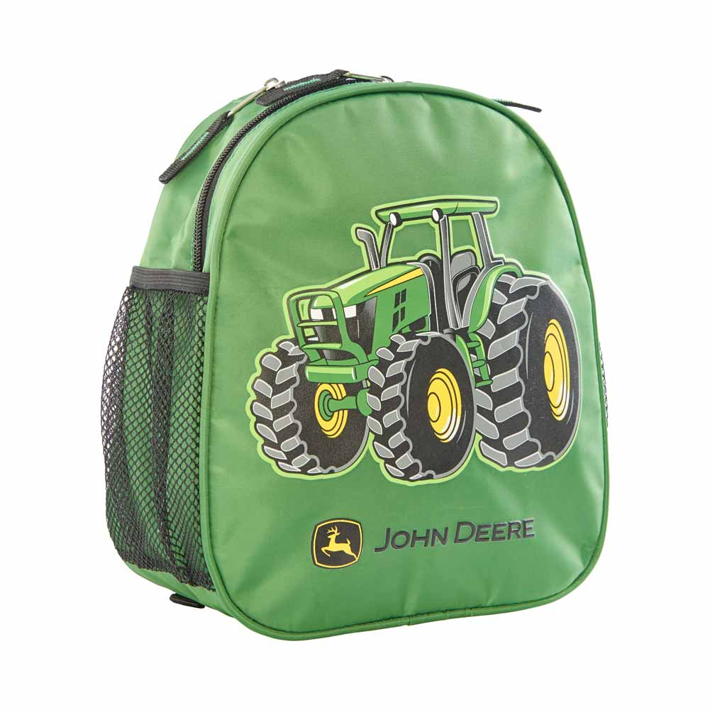 John Deere Toddler Tractor Hooded Backpack