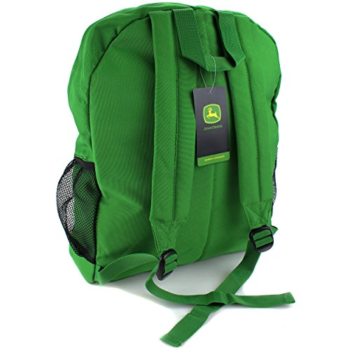 Backpack Lunch Bag And Pencil Pouch Set (Green Tractor Power): John ...