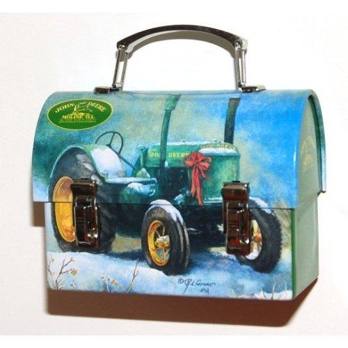 Pics Photos - John Deere Tractor Scene Tin Lunch Box Sold Individually