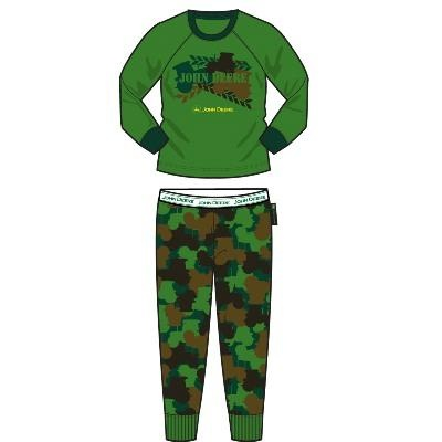 Boy's Youth John Deere Tractor Pajamas | Stuff for Vincent | Pinterest