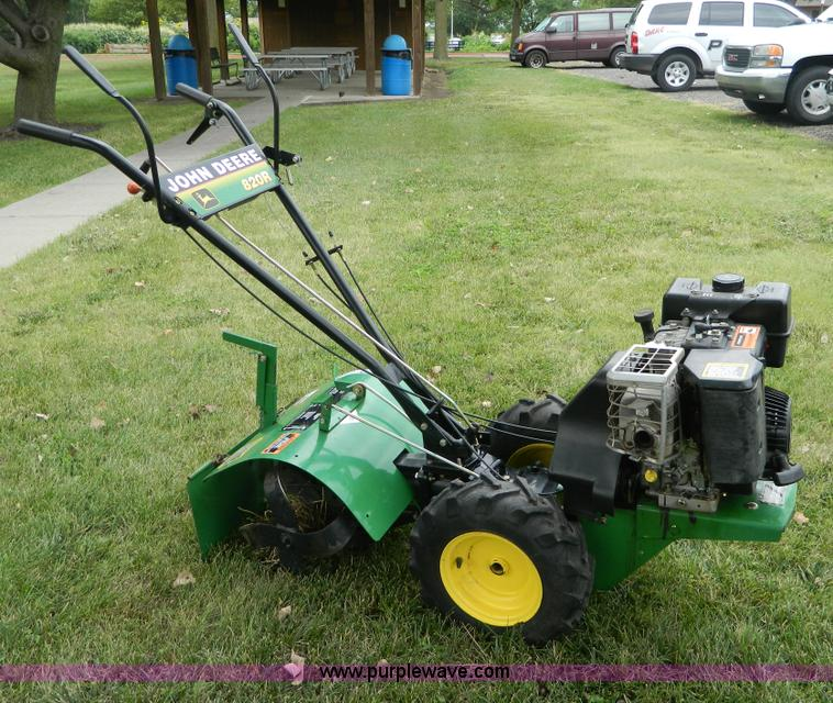 John Deere 820R rear tine tiller | Item AD9185 | SOLD ...