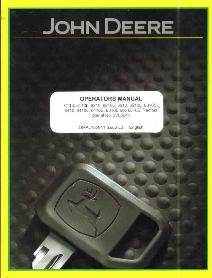 john deere manuals