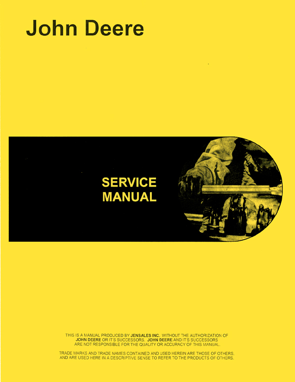 John Deere 730 Tractor Service Manual
