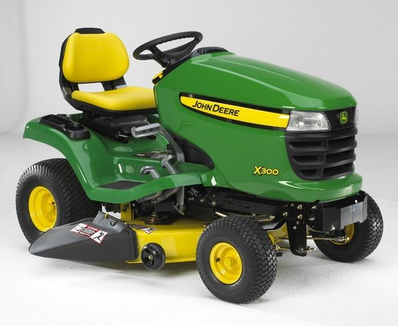John Deere 300 Lawn Tractor   Car Interior Design