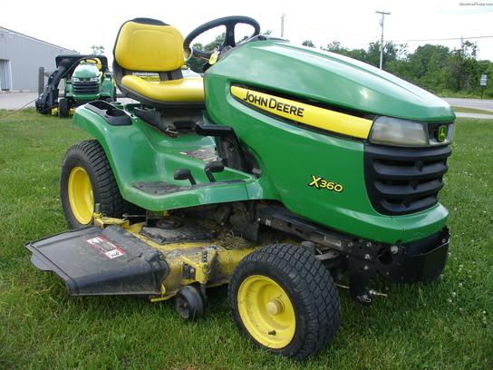 2008 John Deere X360 Lawn & Garden and Commercial Mowing ...