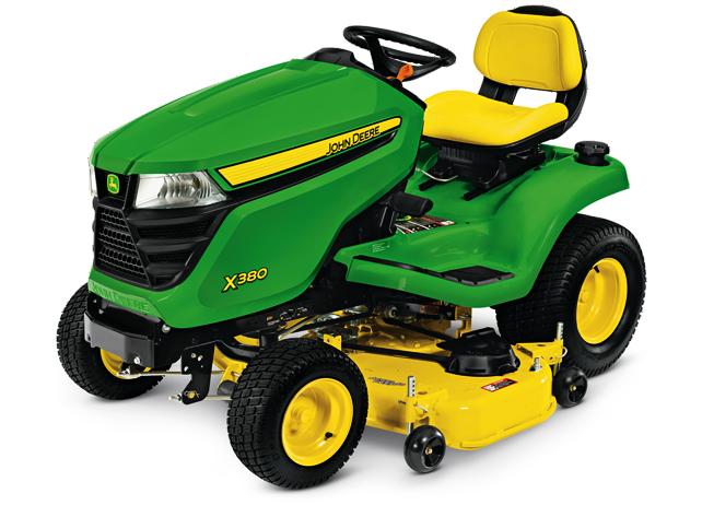John Deere Select Series X300 Lawn Tractors   Holland & Sons