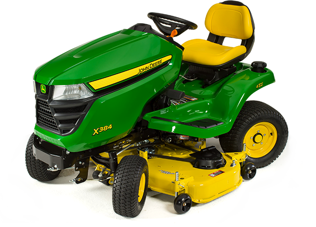 X300 Select Series Lawn Tractor | X384, 48-in. Deck | John ...