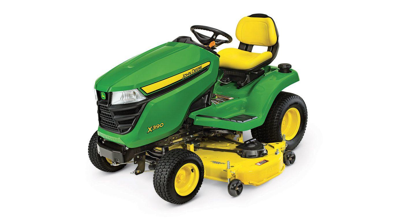 X300 Select Series Lawn Tractor   X390, 54-in. Deck   John ...