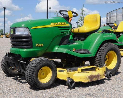 2004 John Deere X475 Lawn & Garden and Commercial Mowing ...