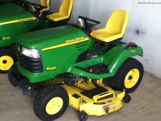 2005 John Deere X495 Lawn & Garden and Commercial Mowing ...