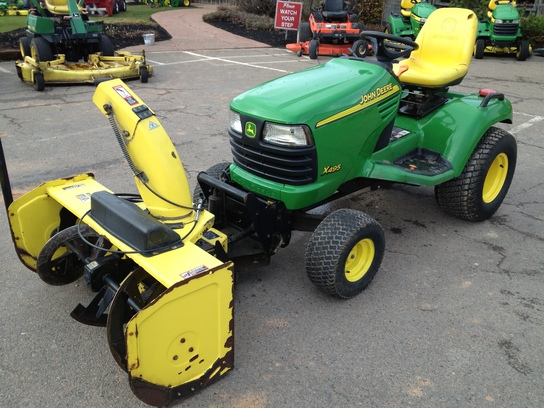 2002 John Deere X495 Lawn & Garden and Commercial Mowing ...