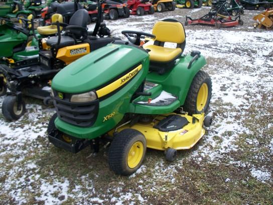 John Deere X520 Lawn & Garden and Commercial Mowing - John ...