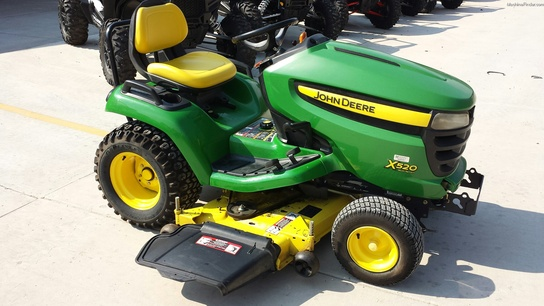 2008 John Deere X520 Lawn & Garden and Commercial Mowing ...