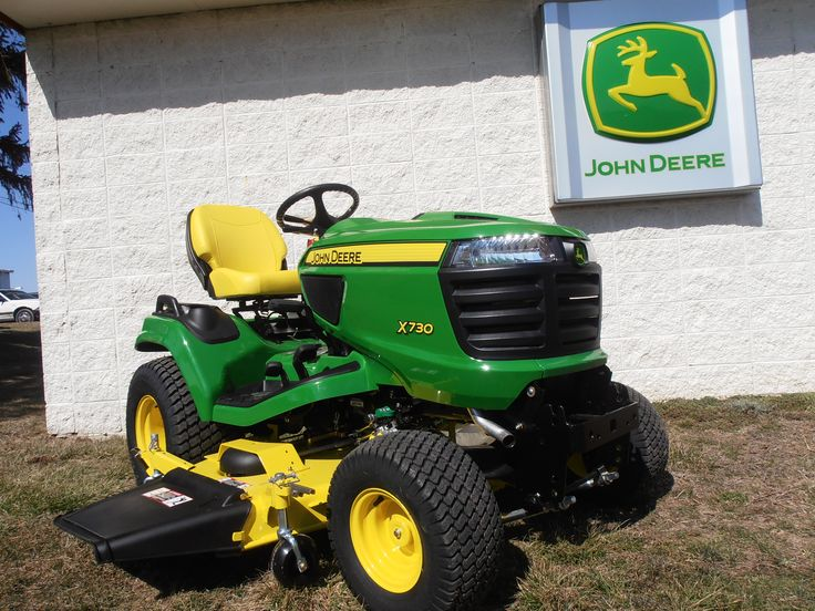 John Deere X730 Riding Lawn Mower -- Check it out at: http ...