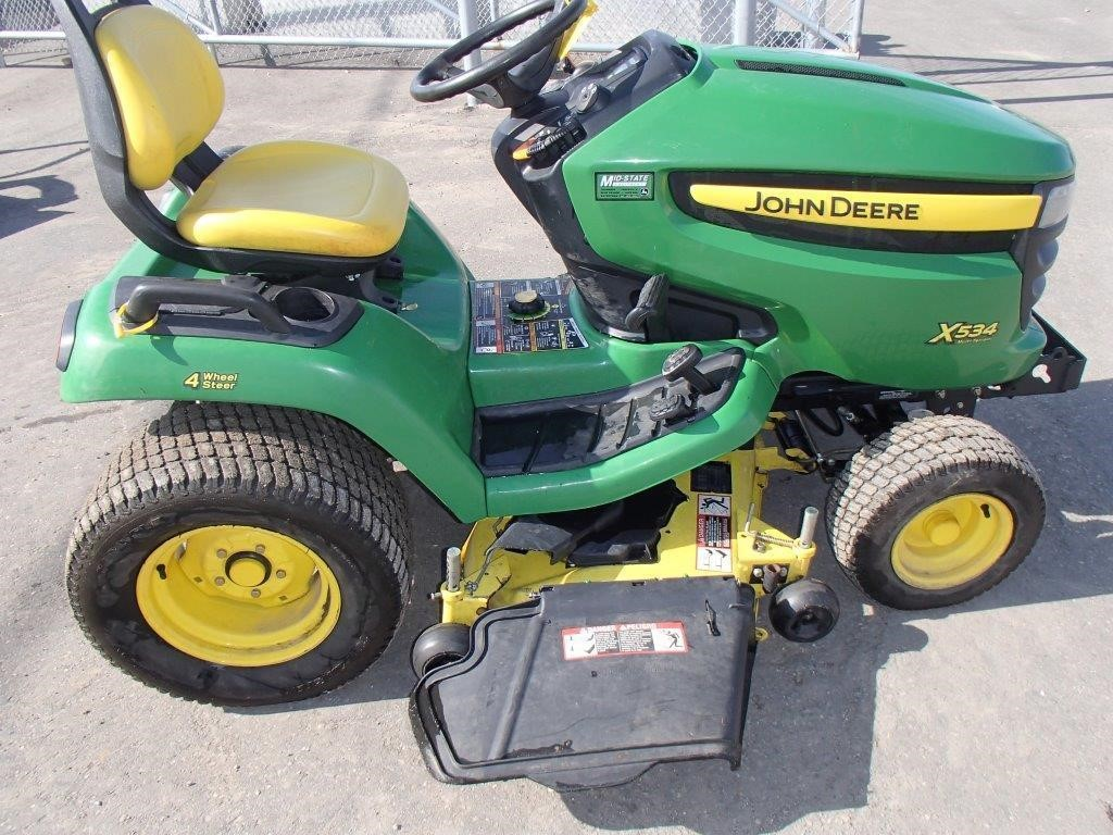 Wisconsin Ag Connection - John Deere X534 Riding Lawn ...