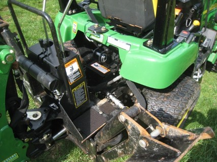 2009 John Deere 2305 Garden Tractor wLoader & Backhoe, Used