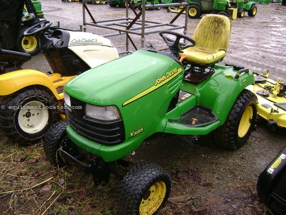 2002 John Deere X585 Riding Mower For Sale at ...