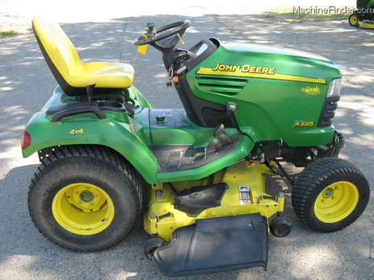 2002 John Deere X595 Lawn & Garden and Commercial Mowing ...