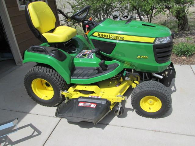 2013 John Deere X710 Lawn & Garden and Commercial Mowing ...