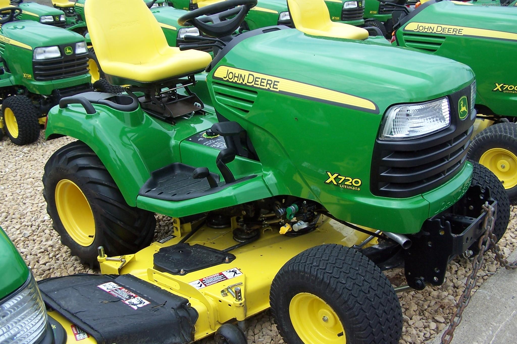 2009 John Deere X720 Lawn & Garden and Commercial Mowing ...