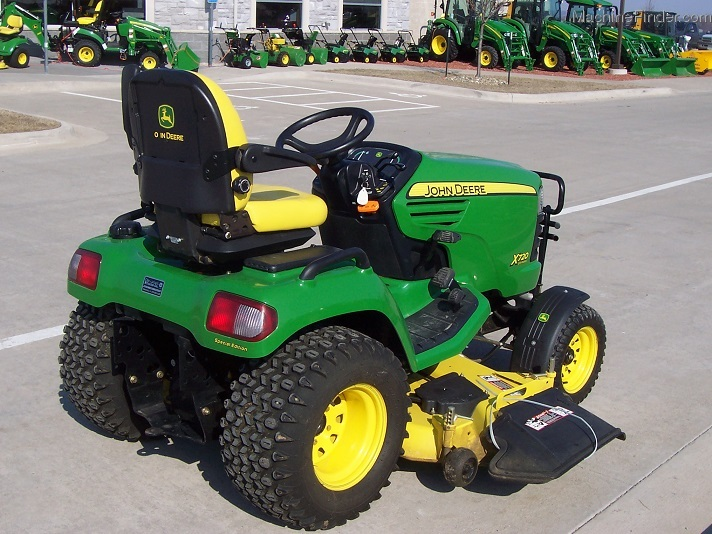 2007 John Deere X720 Special Edition with 62X mower, only ...