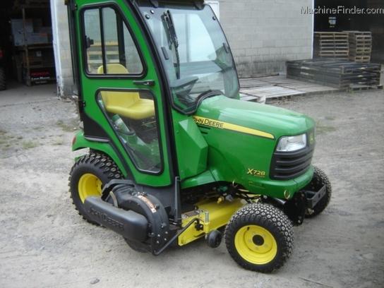 2011 John Deere X728 Lawn & Garden and Commercial Mowing ...