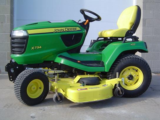 2014 John Deere X734 Lawn & Garden and Commercial Mowing ...