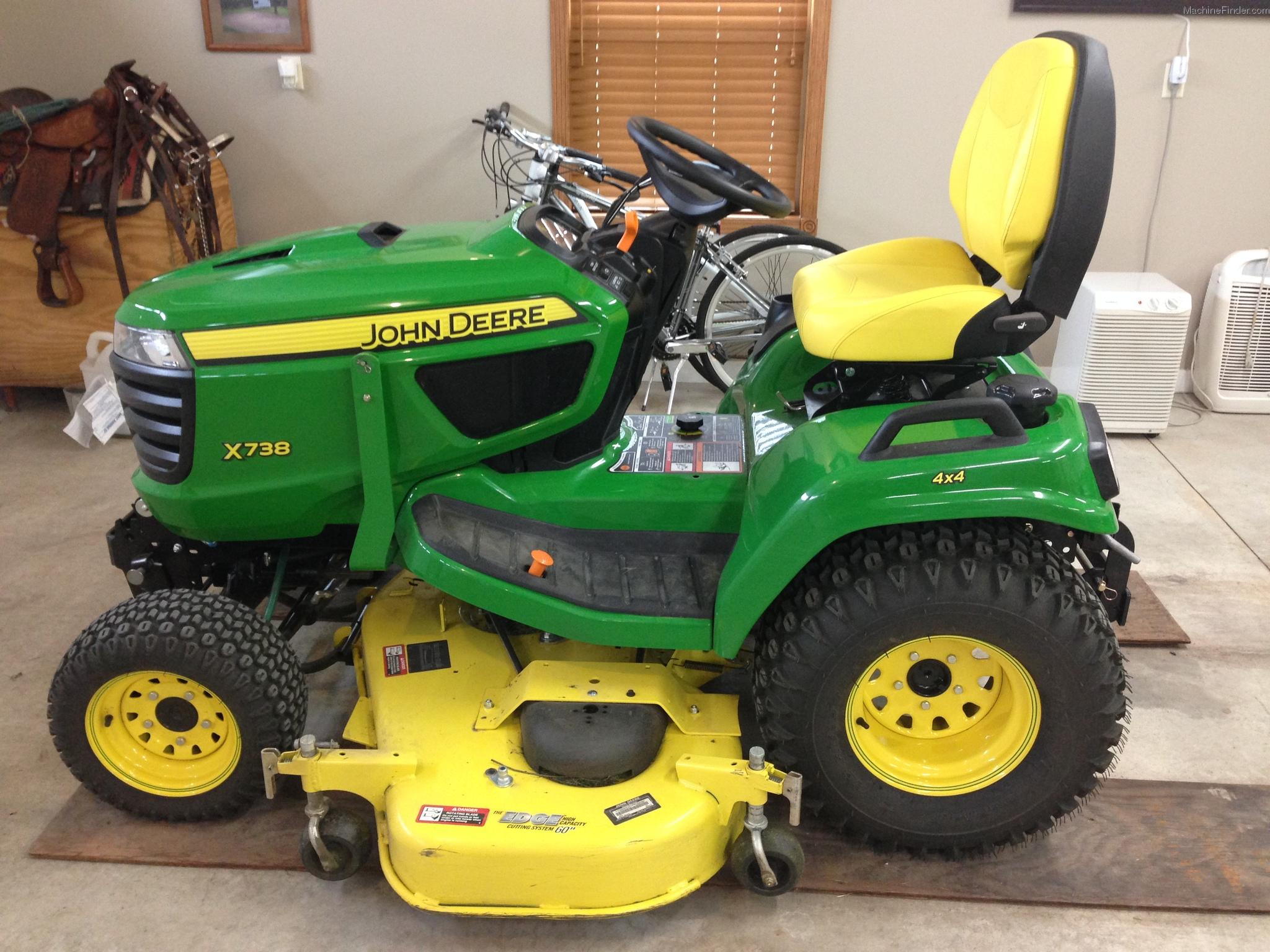 2014 John Deere X738 Lawn & Garden and Commercial Mowing ...