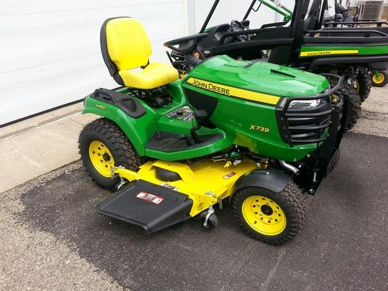 2013 John Deere X739 Lawn & Garden and Commercial Mowing ...
