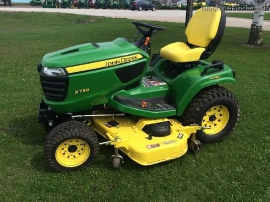 2014 John Deere X739 Lawn & Garden and Commercial Mowing ...