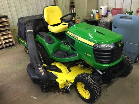 John Deere X739 Tractor Tractors For Sale in Minnesota ...