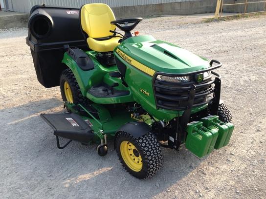 2013 John Deere X758 Lawn & Garden and Commercial Mowing ...