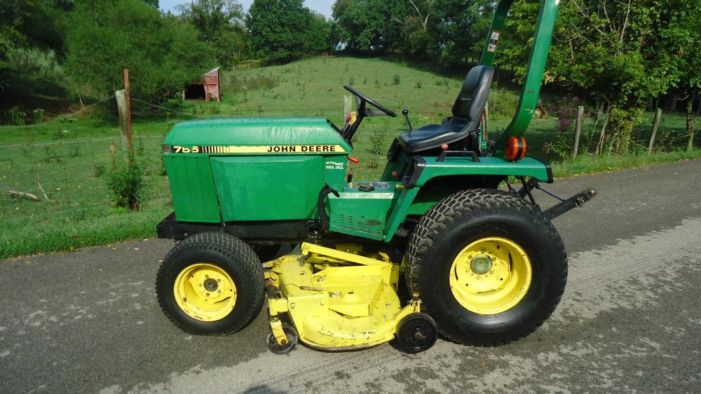 John Deere 755 Lawn Tractor | eBay