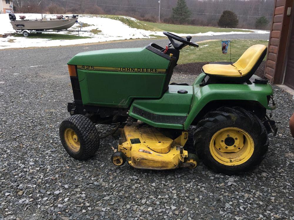 John Deere 425 Lawn Tractor | eBay