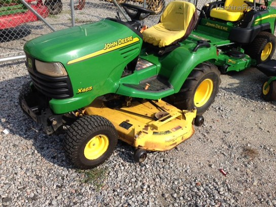 2004 John Deere X465 Lawn & Garden and Commercial Mowing ...