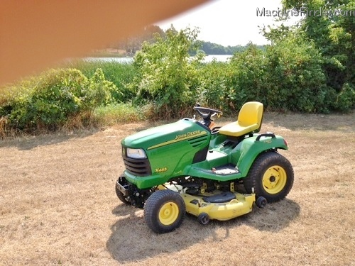 2003 John Deere X465 Lawn & Garden and Commercial Mowing ...