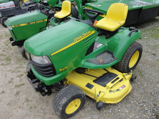 2002 John Deere X475 Lawn & Garden and Commercial Mowing ...