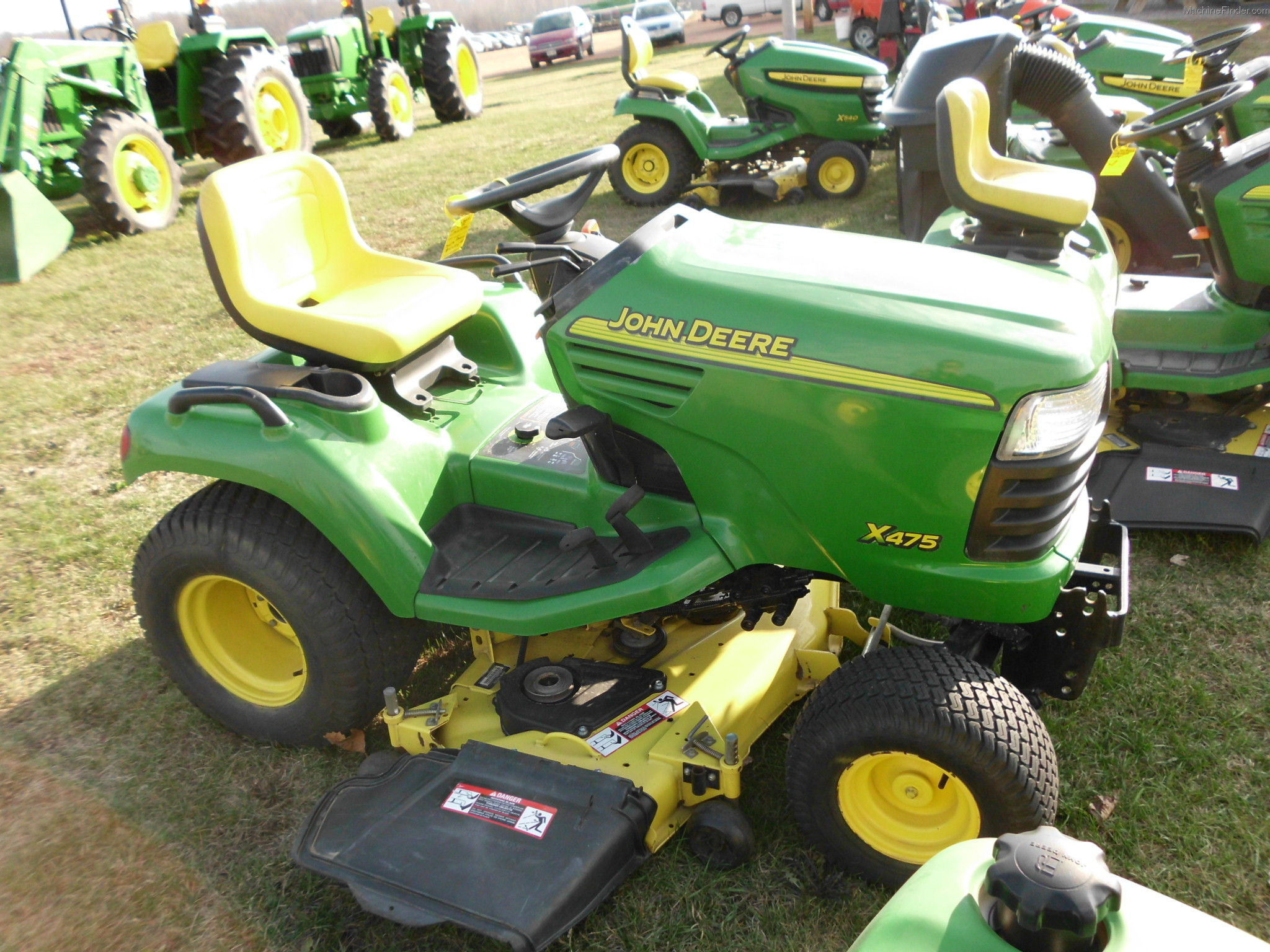 2005 John Deere X475 Lawn & Garden and Commercial Mowing ...