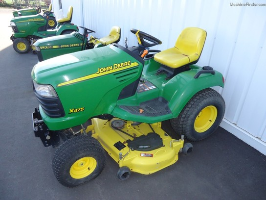 2003 John Deere X475 Lawn & Garden and Commercial Mowing ...