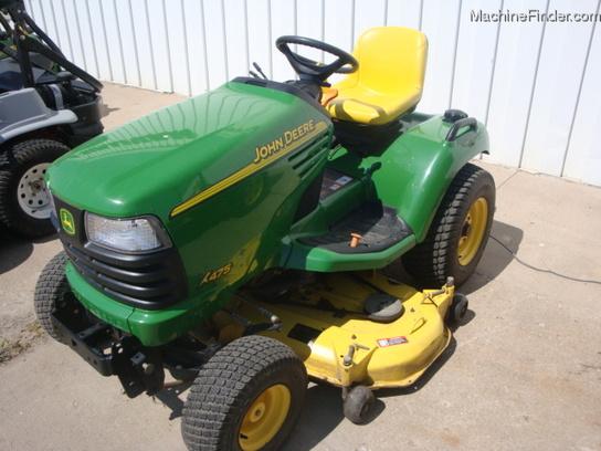 2003 John Deere X475 Lawn & Garden and Commercial Mowing ...