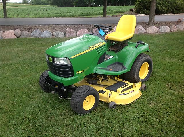 2005 John Deere X485 Lawn Garden Tractor   eBay