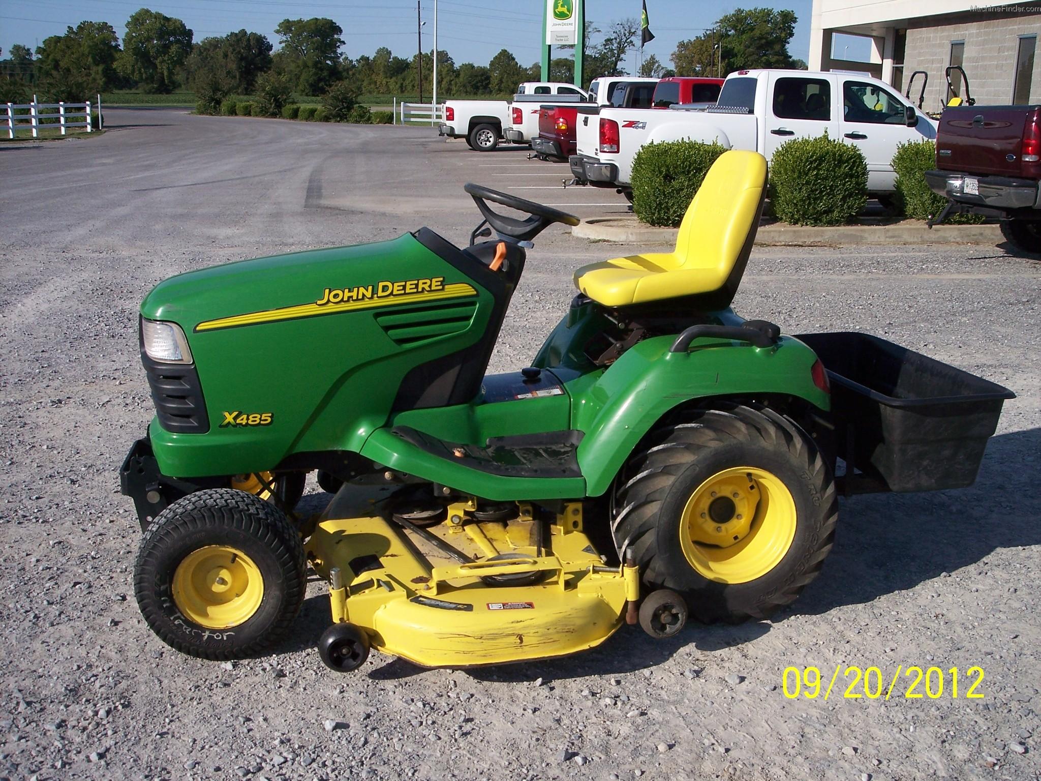 2003 John Deere X485 Lawn & Garden and Commercial Mowing ...
