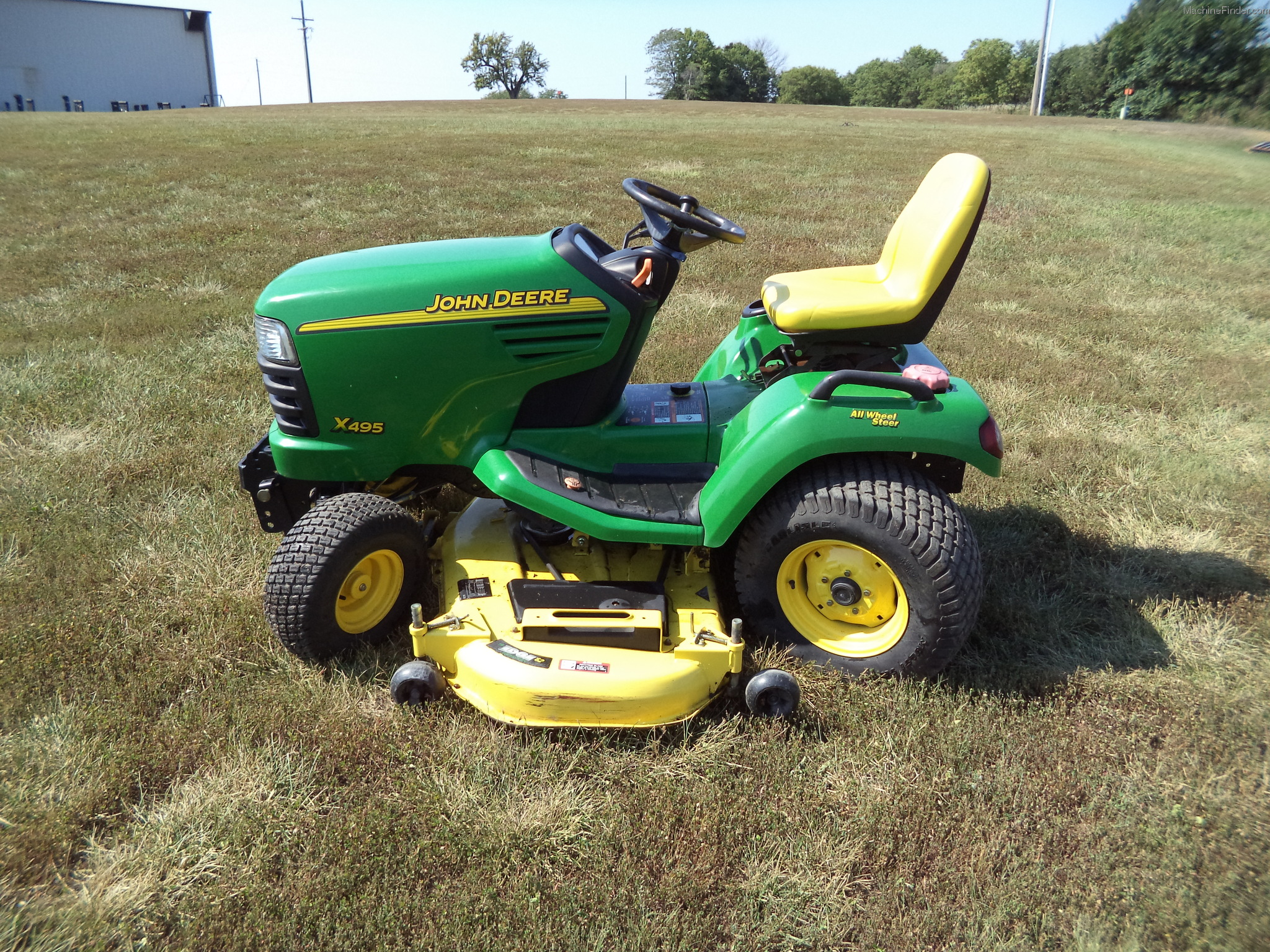 2004 John Deere X495 Lawn & Garden and Commercial Mowing ...